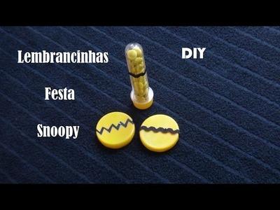 DIY - Lembrancinhas super fáceis para festa com tema Snoopy