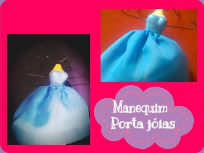 ✂ DIY:: Manequim porta jóias - por Gabi mix