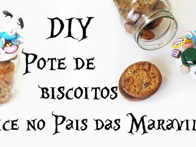 DIY: Pote de Biscoitos Alice no País das Maravilhas (Cookie Jar Alice in Wonderland Tutorial)