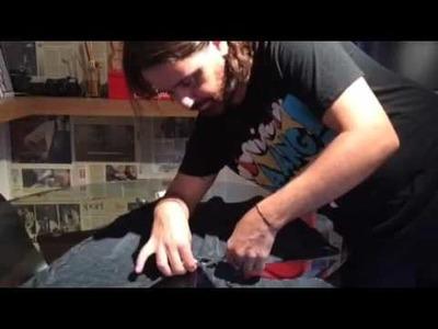 DIY - transforme uma saruel abandonada em uma saia jeans descolada!