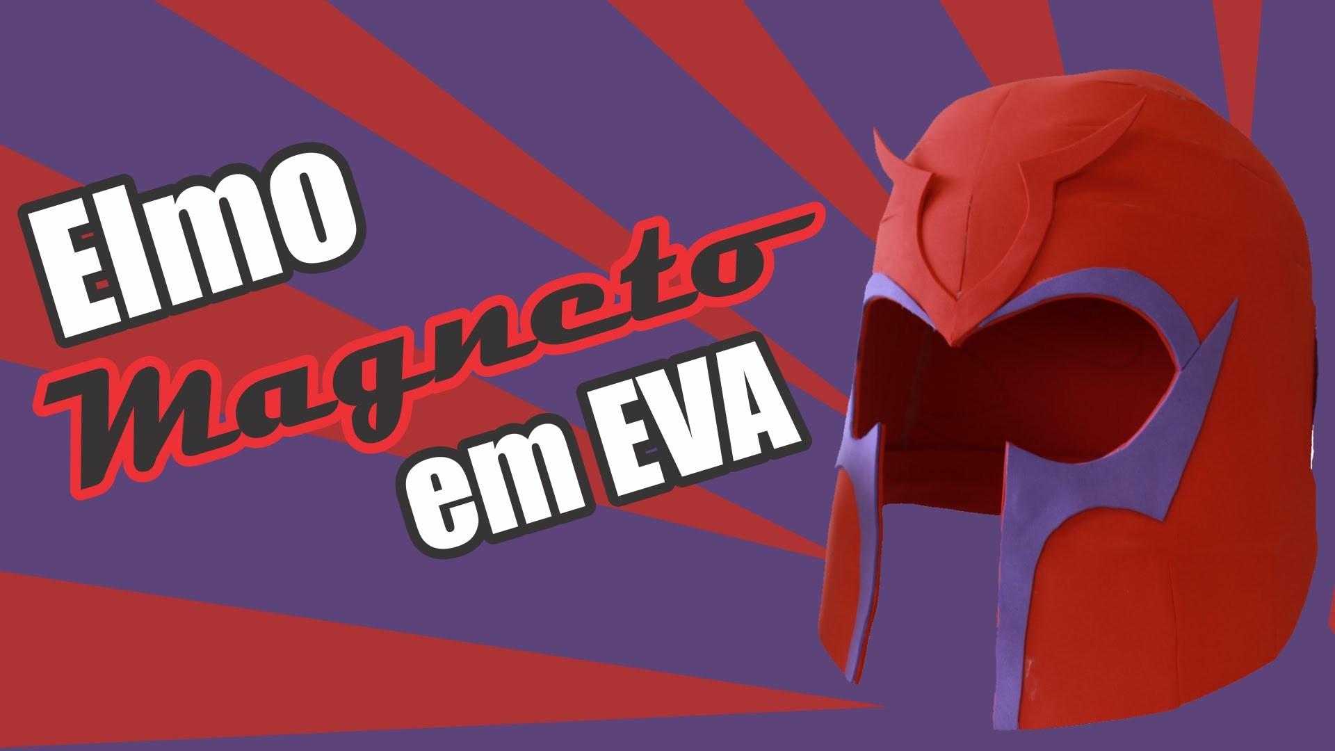 Elmo Magneto - Cardboard em EVA - DIY
