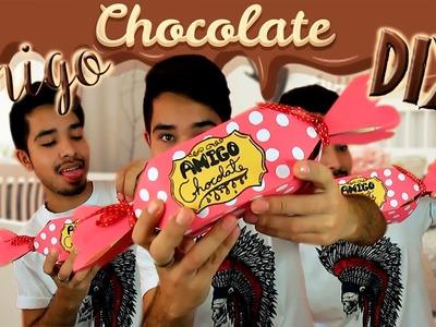 Embalagem de Bombonzão DIY | #AmigoChocolateDIY
