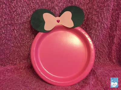 Minnie mouse : DIY PRATO