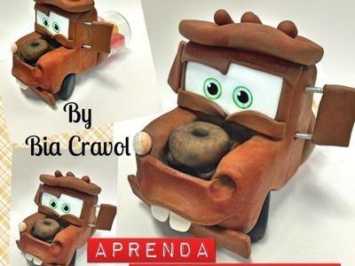 DIY- Mate dos Carros- Aprenda a fazer- biscuit para iniciantes - porcelana fria - By Bia Cravol