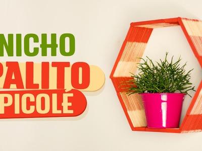 DIY - NICHO PALITO DE PICOLÉ