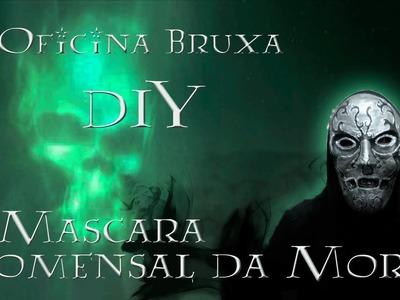 Oficina Bruxa  - Mascara comensal da Morte - DIY