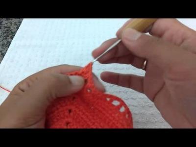 Sutiã (Biquíni de Crochê) Receita Original Círculo