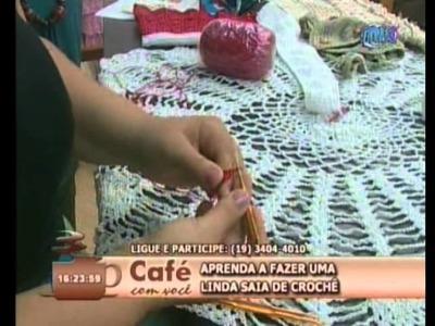 Café Com Você recebeu Adriana Silva - 15.03.2012