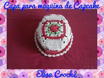 Capa para máquina de Capcake em crochê # Elisa Crochê