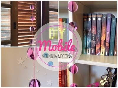 Decore seu quarto mobile de papel DIY