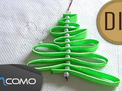 DIY - Árvore de Natal feito com Atacadores