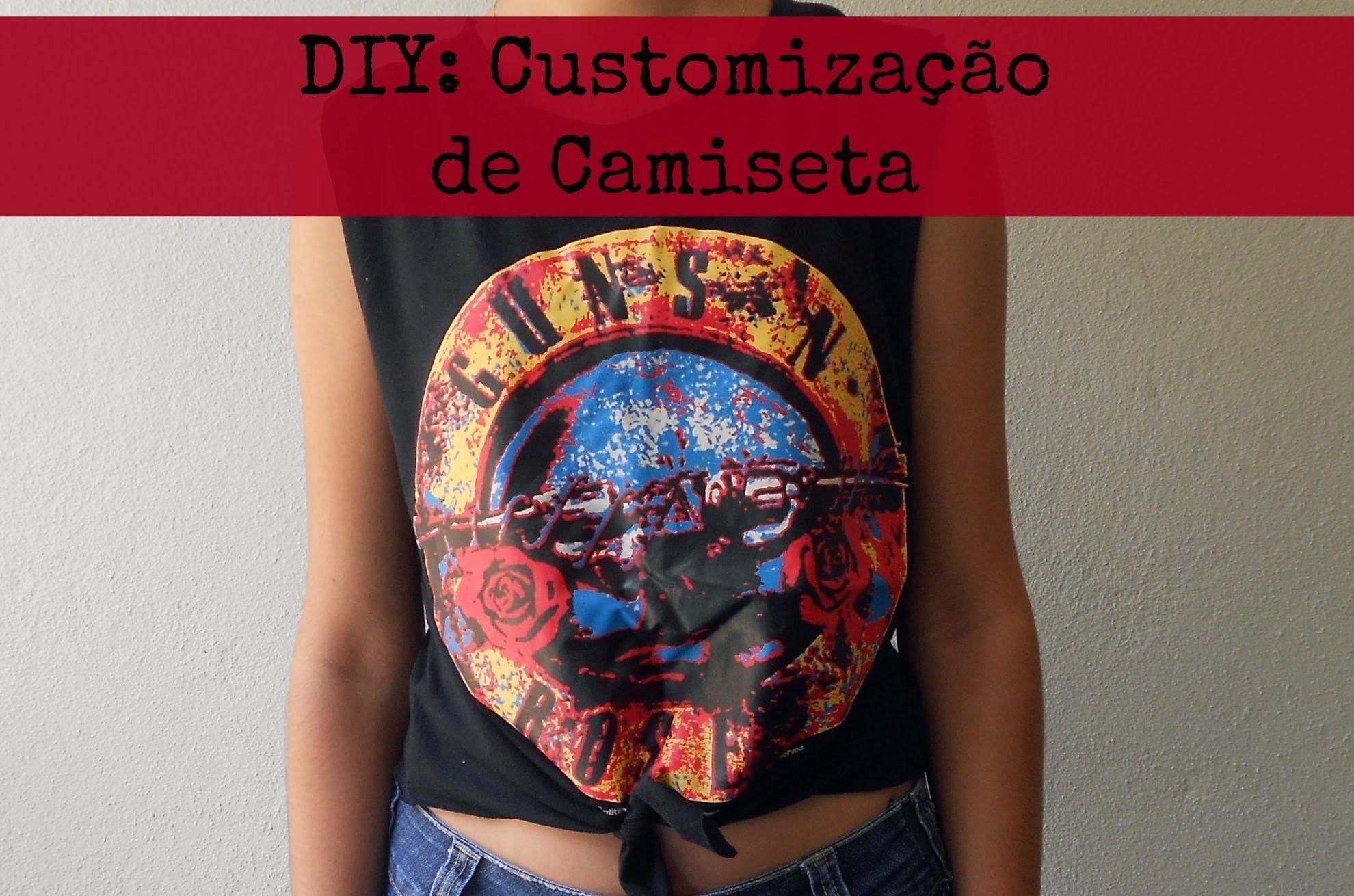 DIY: Customização de Camiseta