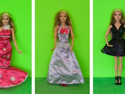 Barbie Leticia Be a real Fashion Designer Fazendo Vestidos da Barbie Portugues Completo