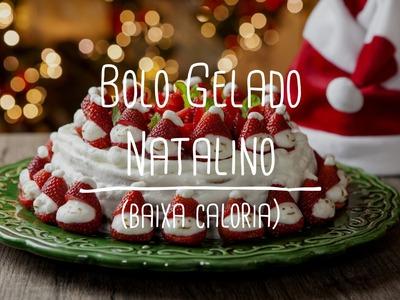 Bolo Gelado de Natal | Receitas Saudáveis - Lucilia Diniz