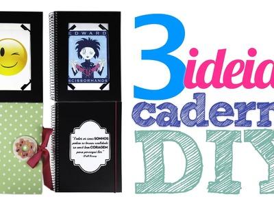 DIY :: Cadernos Personalizados | Especial Volta às Aulas