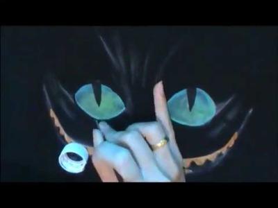 DIY : Camisa personalizada -gato - Alice no país das maravilhas