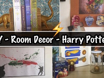 DIY - Decoração de Quarto Harry Potter | Room Decor #3 - Eduardo Wizard