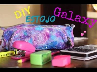 DIY:Estojo Galaxy ( volta às aulas)