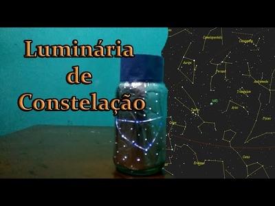 DIY - Luminária de Constelação (Signos do Zodiaco)
