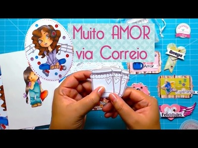 Muito amor via correio, recebido março  - Scrapbook by Tamy