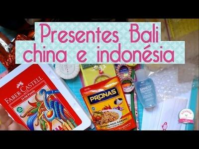 Papelaria presente Bali, China e Indonésia- Scrapbook by tamy