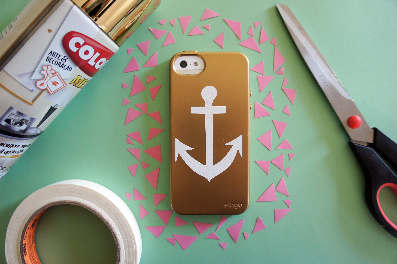 Sua capa de celular novinha em folha l Your brand new cellphone case