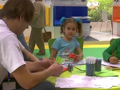 Workshop Origami para Crianças TAP