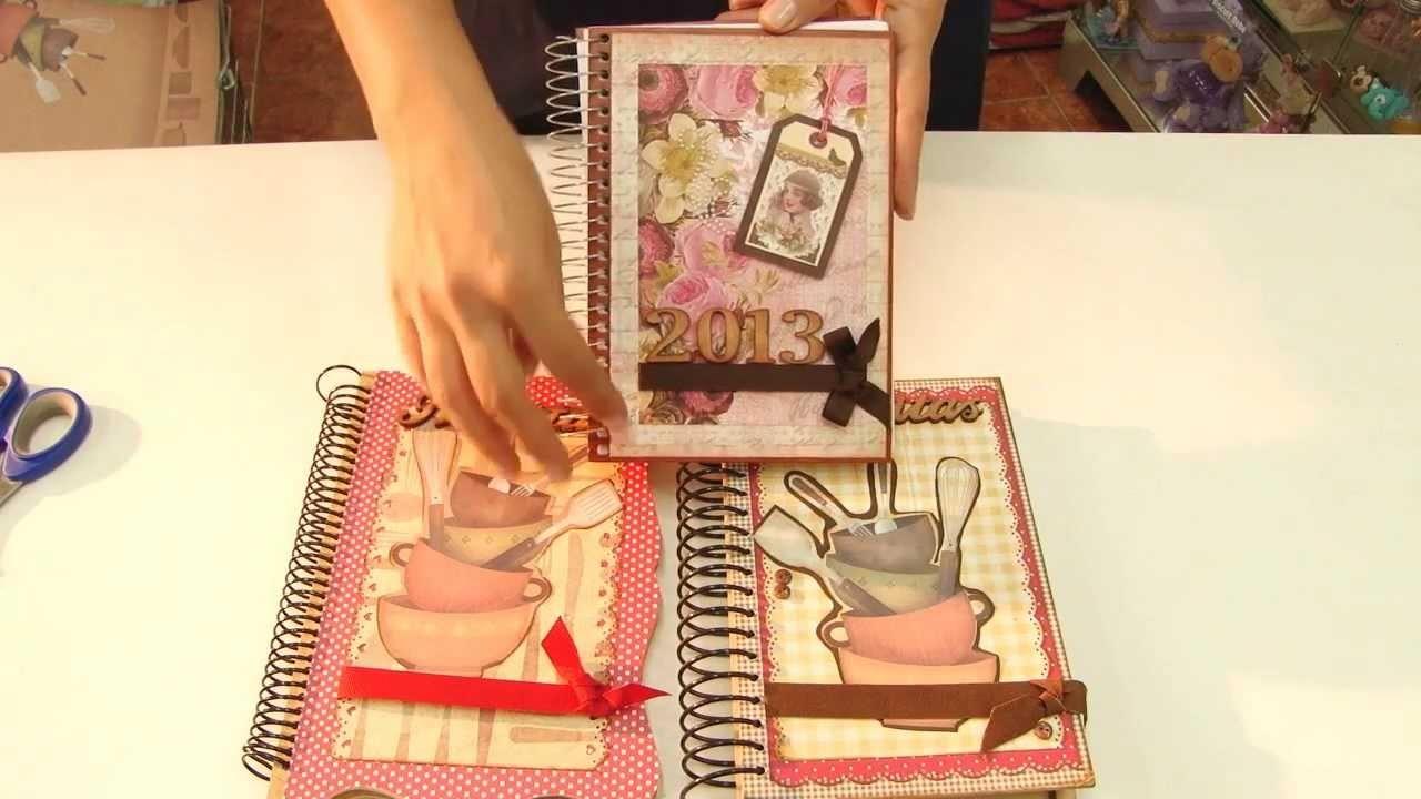 Caderno de Receitas - Hora de Arte - Arte Fácil