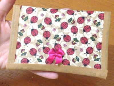 Carteira Feminina Pequena e Barata - Artesanato de Tecido sem Costura