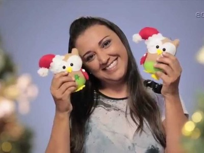 Passa o PAP | Corujinha em feltro com Ana Cristina Campos