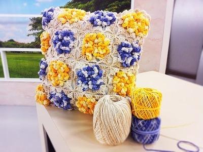 Programa Arte Brasil - 31.03.2016 - Marta Araújo - Almofada com Flores em Crochê