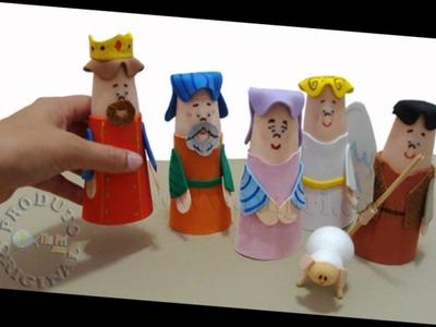 Tia Pri Fantoche de mesa Artesanato Eva Recursos Didaticos Evangelismo Infantil