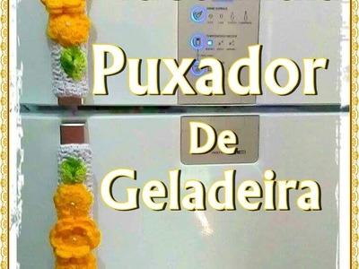 VÍDEO AULA: Puxador de Geladeira (fogão) em Crochê