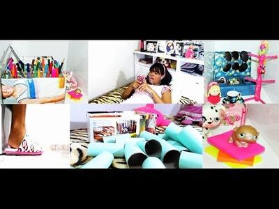 3 decorações para o seu quarto com coisas de casa.