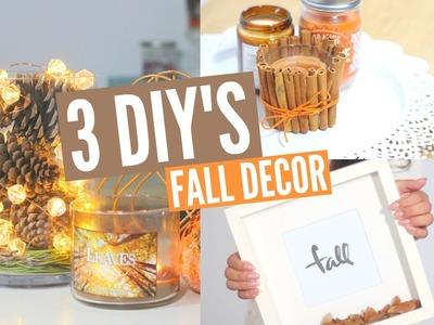 3 DIY's ❤️ Decoração de Outono