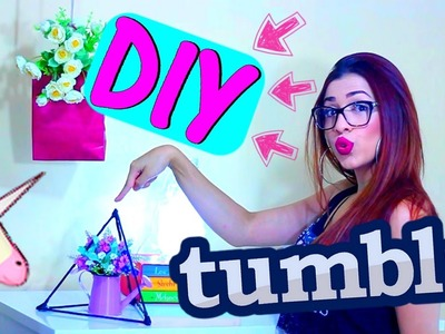 4 DIY ♥ DICAS FÁCEIS PARA QUARTO TUMBLR #VEDA10