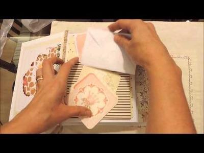 Álbum de bebê com foto - Atelier Bela Arteira