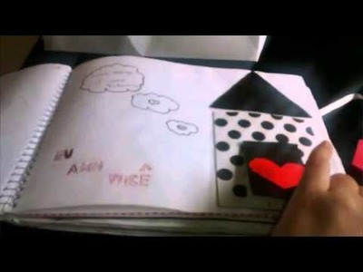 Caderno de recordações para namorado