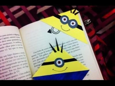 Como fazer: um marcador de páginas de minions