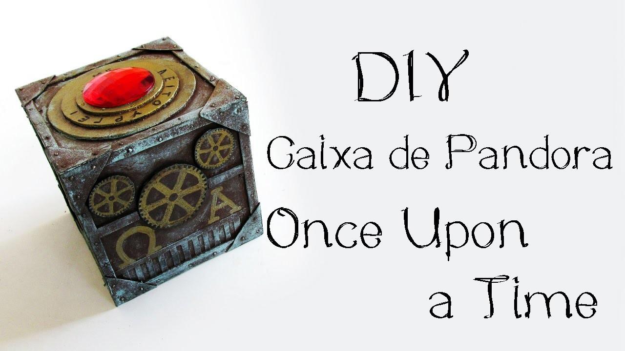 DIY: Caixa de Pandora - ONCE UPON A TIME (Pandora's Box Tutorial) | Ideias Personalizadas - DIY