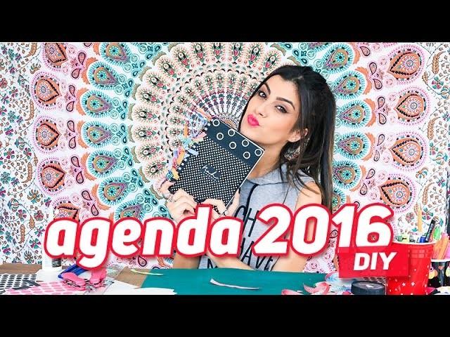 DIY - Como PERSONALIZAR sua AGENDA 2016!