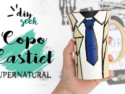 DIY COPO DO CASTIEL ❤ DIY SUPERNATURAL