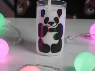 DIY: Copo Panda