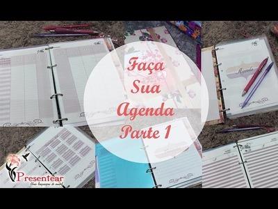 #DIY: Faça sua Agenda - Parte 1