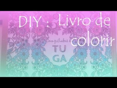 DIY: livro para colorir