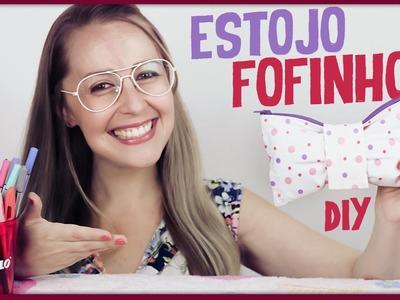 Estojo Fofinho =DiY | #VidaColoridaSTABILO