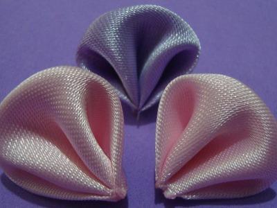 Flores de tecido - Aprender à fazer Linda Pétala de Flor de tecido