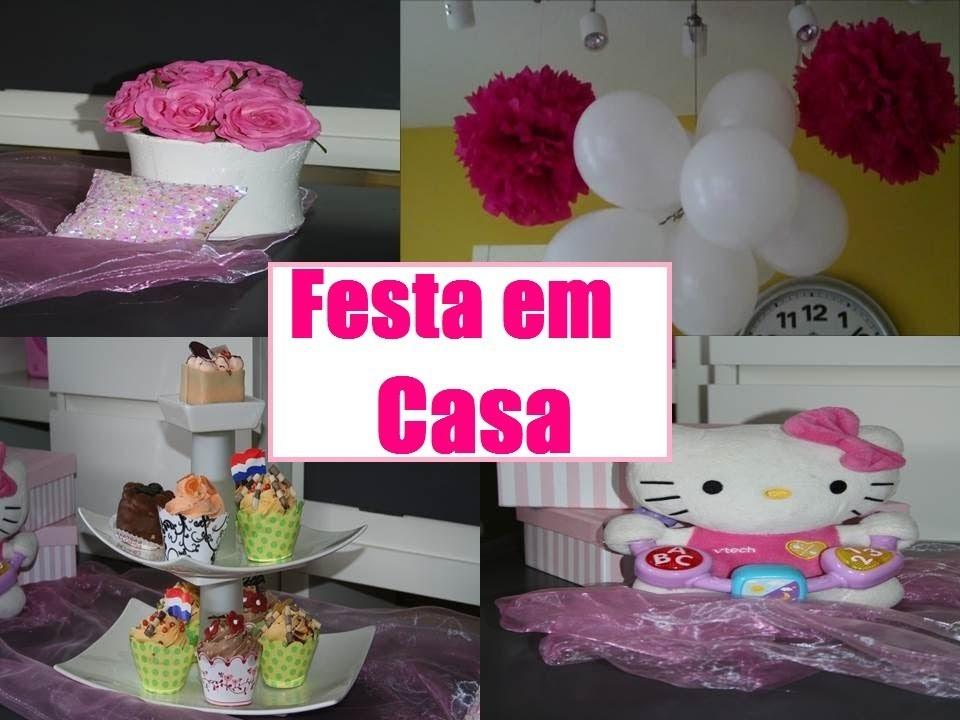 Idéias para Festa Infantil em Casa- Decore Você Mesma