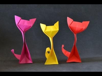 Origami:  Kitty Cat