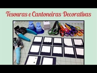Tesouras e Cantoneiras Decorativas
